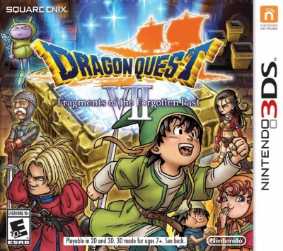 Dragon Quest VII: Fragments of Forgotten Past Cover Art