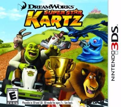 Dreamworks Super Star Kartz Cover Art