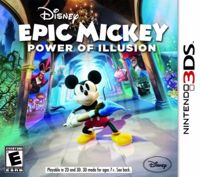 Epic Mickey 2: Power of Illusion Cover Art