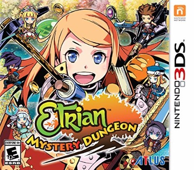 Etrian Mystery Dungeon Cover Art