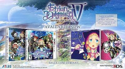 Etrian Odyssey V: Beyond The Myth [Launch Edition] Cover Art