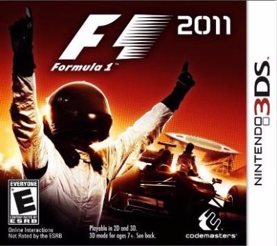 F1 2011 Cover Art
