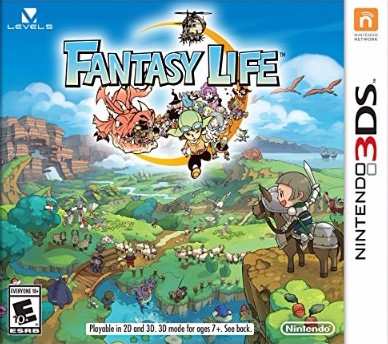 Fantasy Life Cover Art