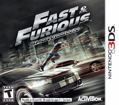 Fast and the Furious: Showdown Cover Art