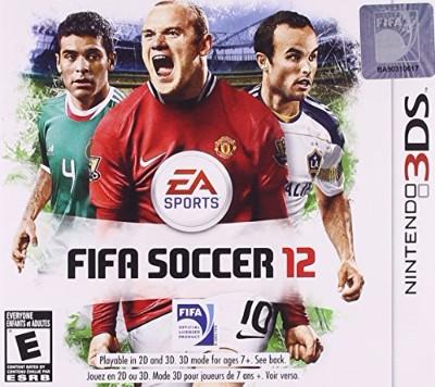 FIFA Soccer 12 Cover Art