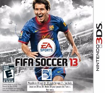 FIFA Soccer 13 Cover Art