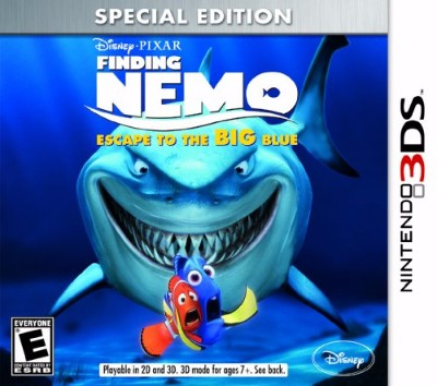 Finding Nemo: Escape To The Big Blue Cover Art