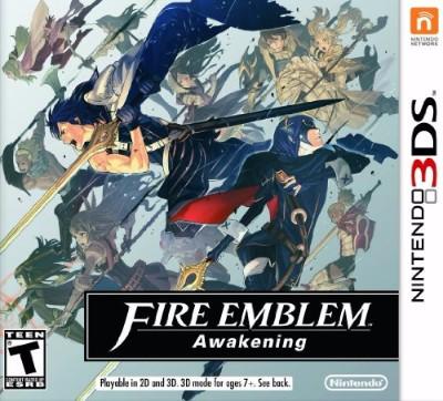 Fire Emblem: Awakening Cover Art