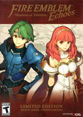 Fire Emblem Echoes: Shadows of Valentia [Limited Edition] Cover Art