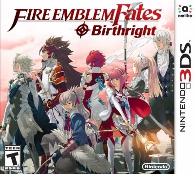 Fire Emblem Fates: Birthright Cover Art