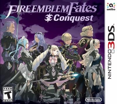 Fire Emblem Fates: Conquest Cover Art