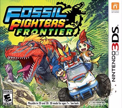 Fossil Fighters: Frontier Cover Art