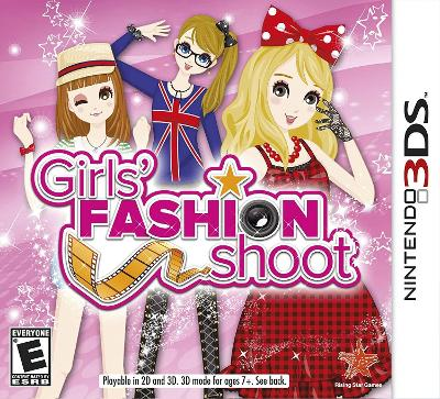 Girls' Fashion Shoot Cover Art