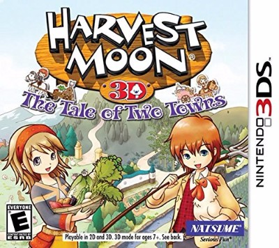 Harvest Moon: Tale Of Two Towns Cover Art