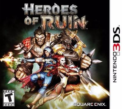 Heroes of Ruin Cover Art