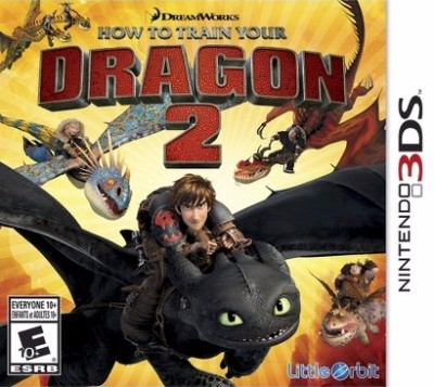 How to Train Your Dragon 2 Cover Art