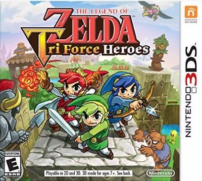Legend of Zelda: Tri Force Heroes Cover Art