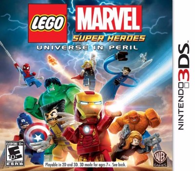 LEGO Marvel Super Heroes: Universe in Peril Cover Art