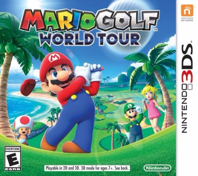 Mario Golf: World Tour Cover Art