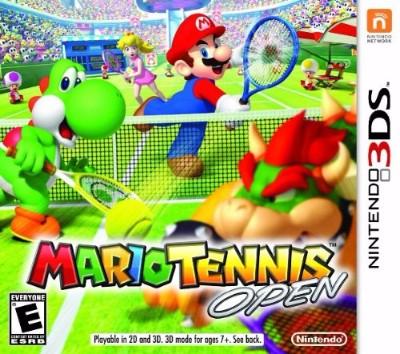 Mario Tennis Open Cover Art