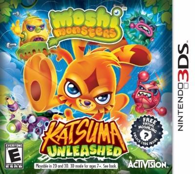 Moshi Monsters: Katsuma Unleashed Cover Art