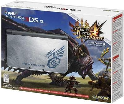 New Nintendo 3DS XL [Monster Hunter 4 Ultimate Edition] Cover Art