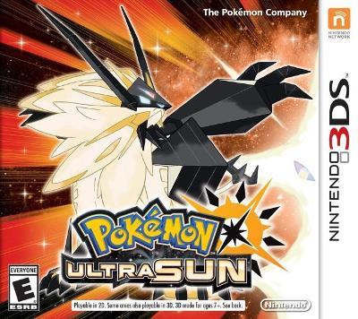 Pokemon Ultra Sun Cover Art