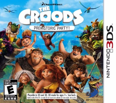 The Croods: Prehistoric Party Cover Art