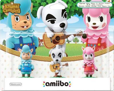 Cyrus, K.K., & Reese 3 Pack [Animal Crossing Series] Cover Art
