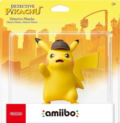 Detective Pikachu Cover Art