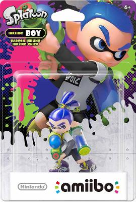 Inkling Boy [Blue] [Splatoon Series] Cover Art