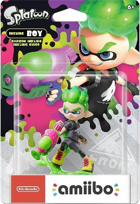Inkling Boy [Green] [Splatoon Series] Cover Art