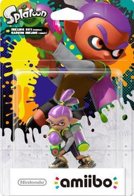Inkling Boy [Purple] [Splatoon Series] Cover Art