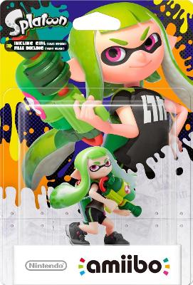 Inkling Girl [Green] [Splatoon Series] Cover Art