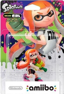 Inkling Girl [Orange] [Splatoon Series] Cover Art
