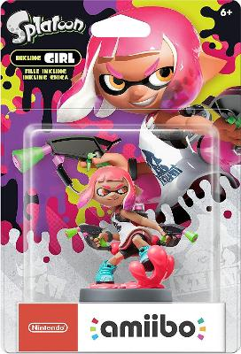 Inkling Girl [Pink] [Splatoon Series] Cover Art