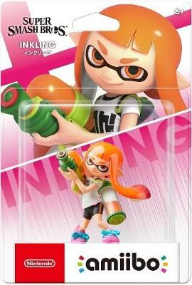 Inkling Girl [Super Smash Bros. Series] Cover Art