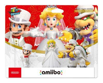 Mario, Peach, Bowser 3 pack [Super Mario Odyssey] Cover Art