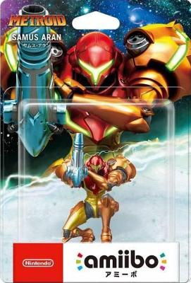 Samus Aran [Metroid Series] Cover Art