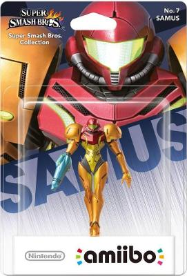 Samus [Super Smash Bros. Series] Cover Art