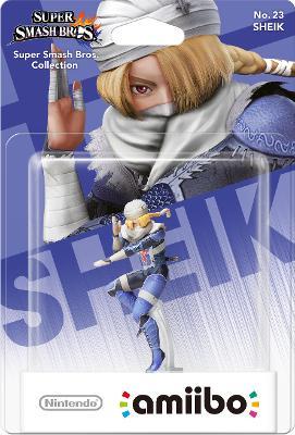 Sheik [Super Smash Bros. Series] Cover Art