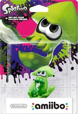 Squid [Green] [Splatoon Series] Cover Art