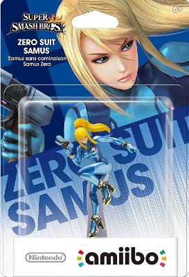 Zero Suit Samus [Super Smash Bros. Series] Cover Art