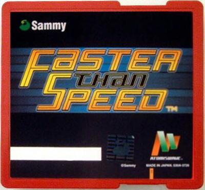 Faster than Speed [Atomiswave] Cover Art