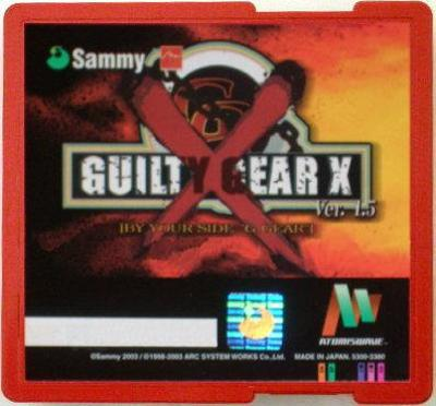 Guilty Gear X 1.5 [Atomiswave] Cover Art
