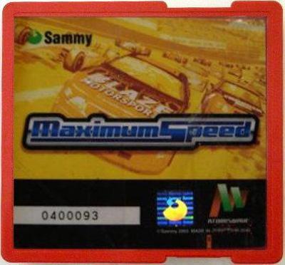 Maximum Speed [Atomiswave]