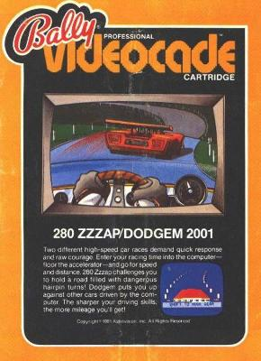 280 Zzzap / Dodgem Cover Art