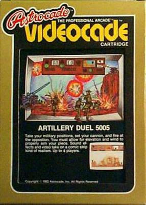 Artillery Duel Cover Art
