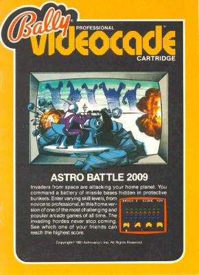 Astro Battle Cover Art