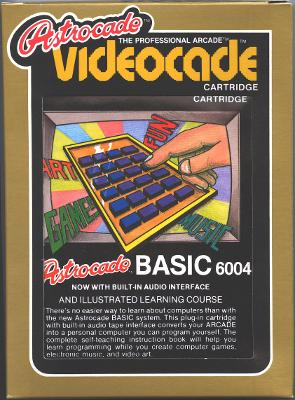 Astrocade BASIC Cover Art